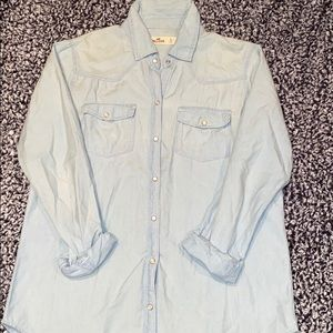 Hollister light jean jacket
